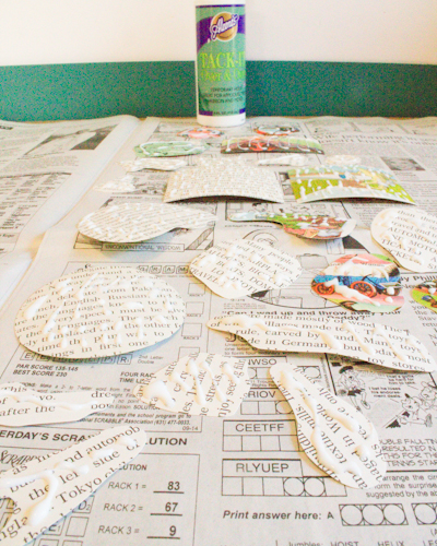 Make Reusable Stickers from Upcycled Paper