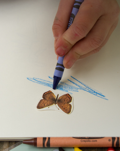 how to make sticker paper