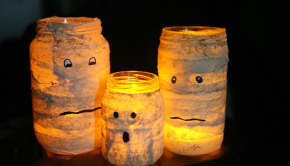 Halloween Craft from Recycled Materials: 30 Halloween Party Ideas