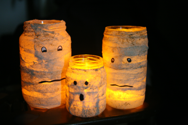 30 Halloween Crafts From Recycled Materials