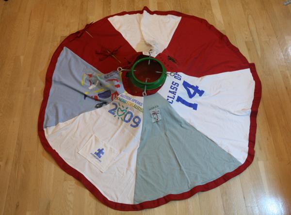 t-shirt tree skirt