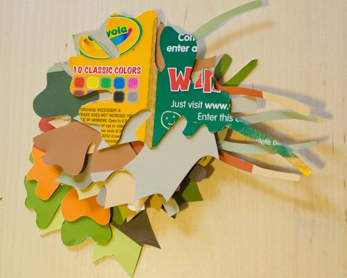 Autumn Craft: Leaf Garland