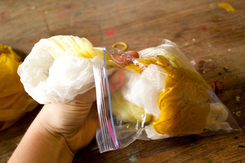 Vat Dye Silk