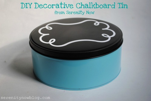 Upcycle Cookie Tins