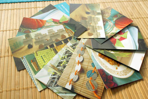 Green business cards a moo review crafting a green world green business card spread reheart Images