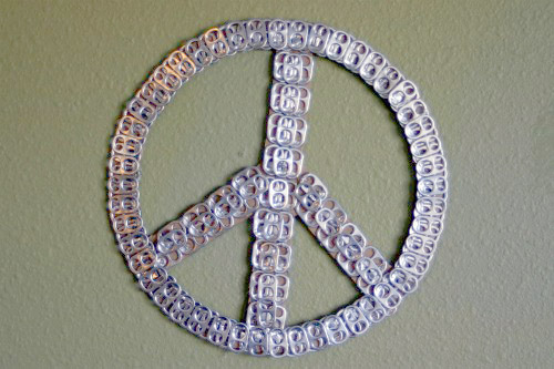 Pop Top Peace Sign