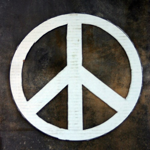 DIY Pop Top Peace Sign