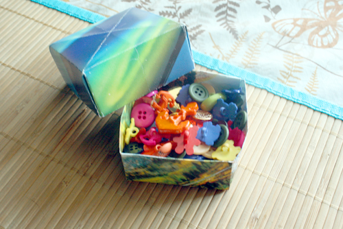 How To Turn An Old Calendar Into A Treat Box Crafting A Green World