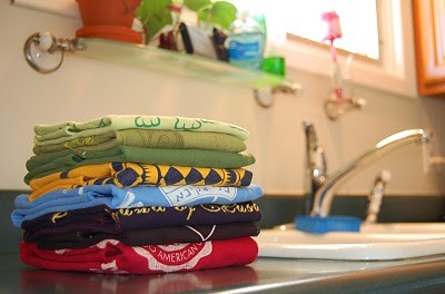 Recycled T-Shirt Projects