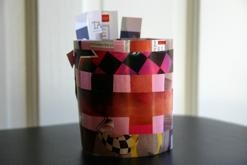 Upcycled Candle Jar Project for Valentine's Day