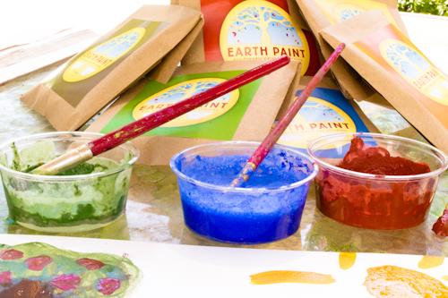 Earth Paint Eco-Friendly Paint for Children