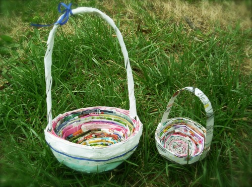 DIY Eco-Friendly Easter Baskets