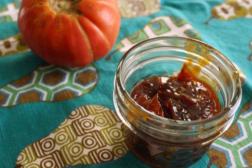home made tomato jam