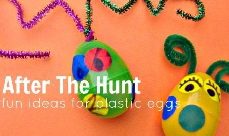 Recycle Plastic Easter Eggs