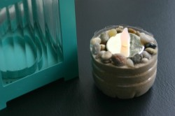 How to Reuse Plastic Bottles: Candle Holder