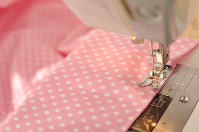 You can sew bed sheets to upcycle them into something completely different.
