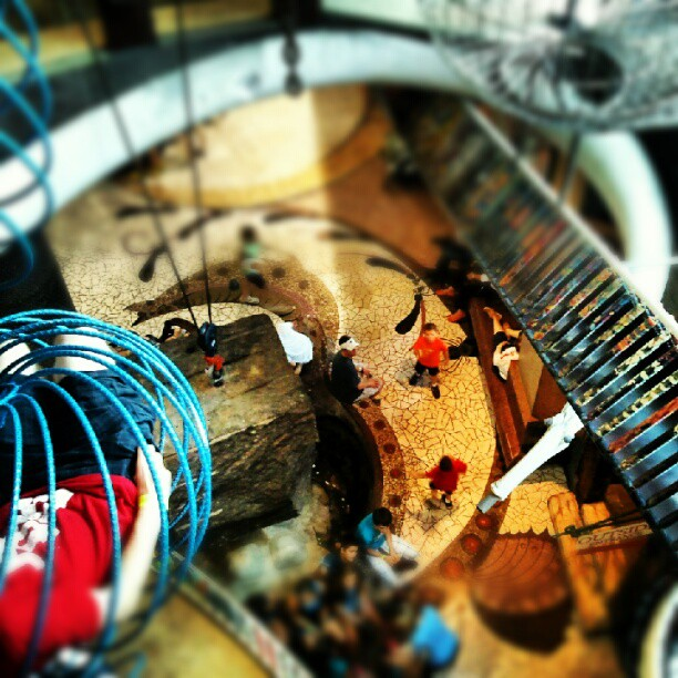 inside the City Museum