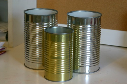How To: Upycled Decorative Cans