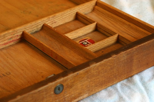 How To: Repurposed Desk Drawer