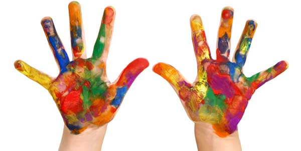 How To Make Bath Finger Paints