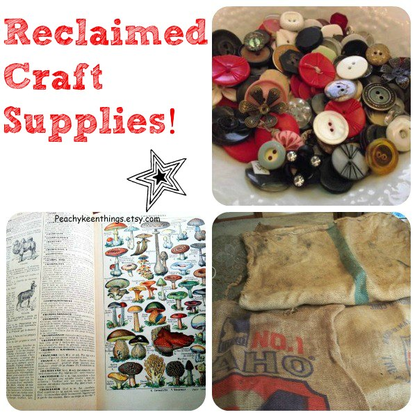 Reclaimed Craft Supplies from Tophatter