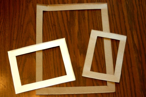 How To: Fridge Frames from Cardboard Boxes • Crafting a Green World