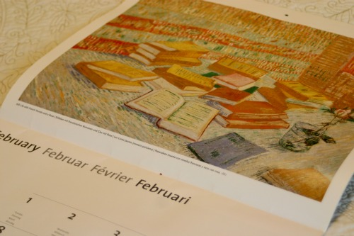 How To: Upcycle an Old Calendar into Art