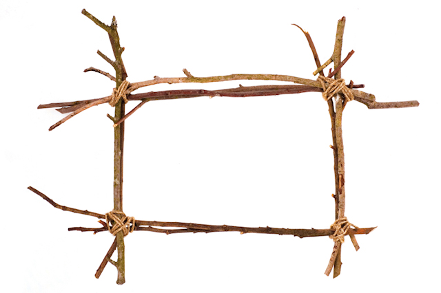 Nature Crafts to Make Using the Sticks from Your Yard • Crafting a ...