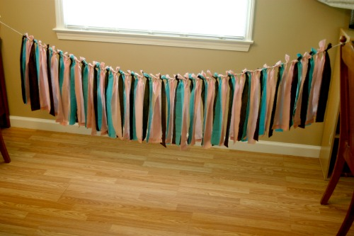 How To: Upcycled Fabric Banner