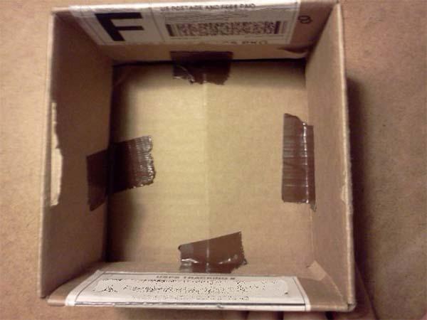 Cardboard Box Taped