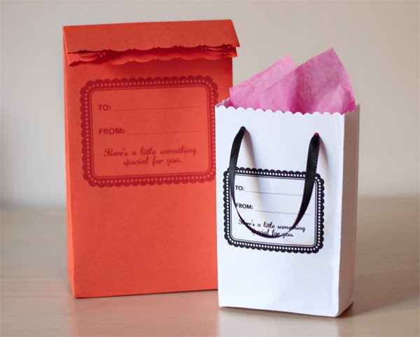 DIY envelope gift bags from How About Orange