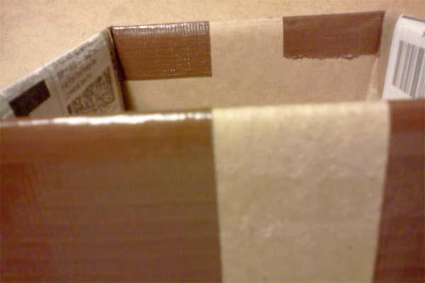 Tape Box Sides