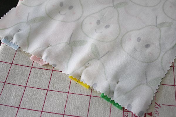 felt pinned for DIY toy
