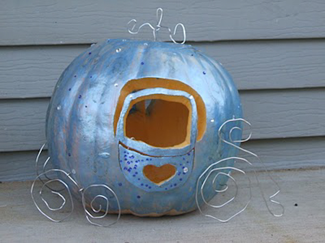 pumpkin coach from Frugally Blonde