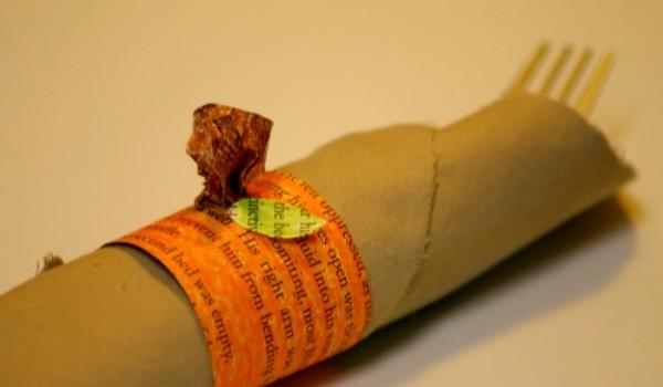 DIY Halloween Ideas: Pumpkin Napkin Ring