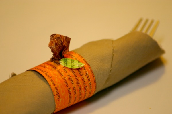 Pumpkin Napkin Ring Holder