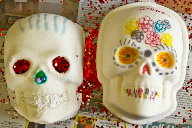 Vegan Sugar Skulls
