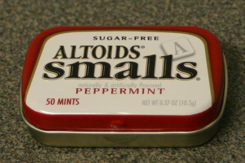 Altoids Tin Gift Holder