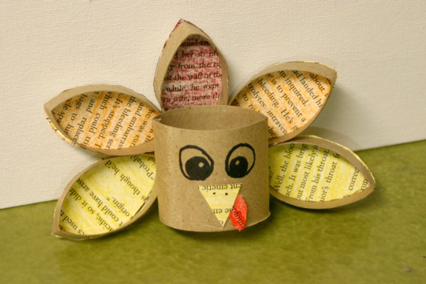 Toilet Paper Roll Turkey Crafting A Green World