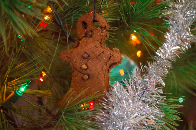 cinnamon dough ornament