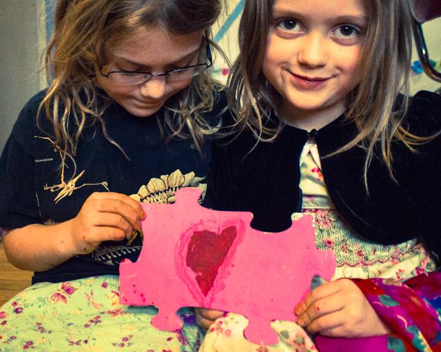 puzzle piece Valentine