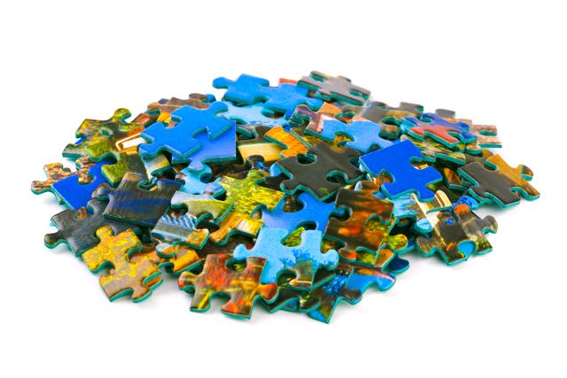 orphaned puzzle pieces image via Shutterstock