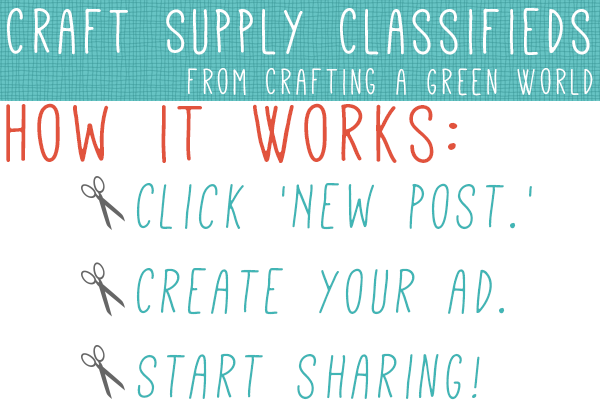 Share and Swap Craft Supplies