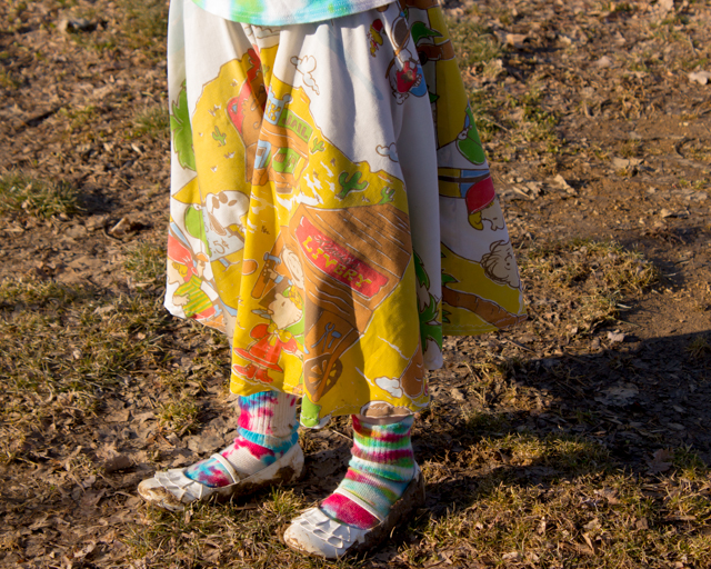 circle skirt from a sheet (5 of 5)
