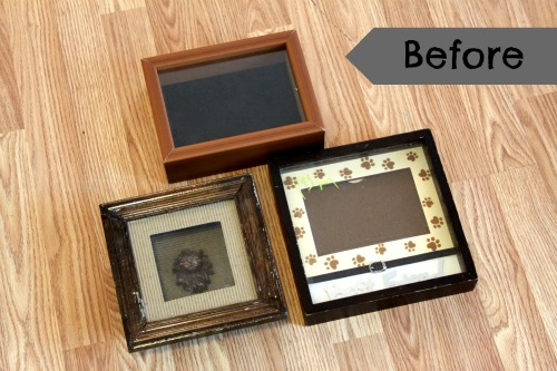 Creatively Store Your Collections in Upcycled Shadow Boxes!