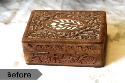 How To: Spruce Up an Old Jewelry Box