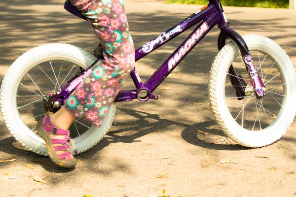 DIY balance bike from pedal bike (2 of 4)
