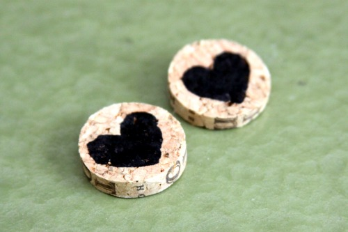 How To: Make Wine Cork Earrings