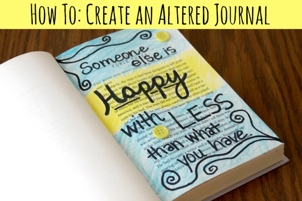 How To: Create an Altered Journal