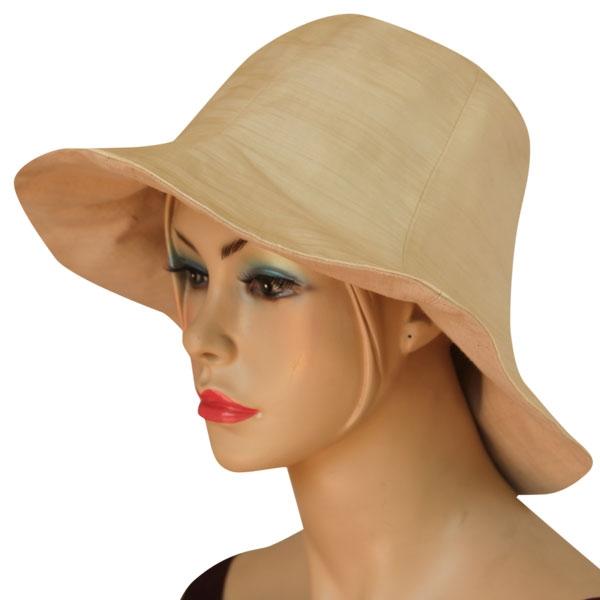 lotus flower fabric hat